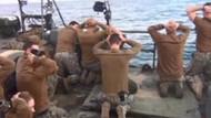 İran'ın ABD askerlerini tutukladığı görüntüler yayınlandı