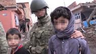 Kadın subaylardan Sur'da şefkat dokunuşu