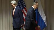 Kerry Lavrov görüşmesinde Rusya bayrağı krizi