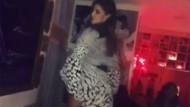Belen Rodriguez'den seksi dans