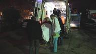 Polise çekiçli saldırı: 5 polis yaralı