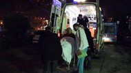 Kocaeli'de polislere çekiçli saldırı: 5 polis yaralı