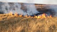 Anız yangını kaza yaptırdı: 1 ölü, 4 yaralı