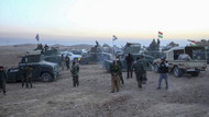 Musul'da askeri sevkiyat sırasında bayrak krizi yaşandı