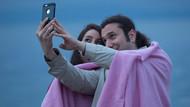 Erdek Sahilinin en romantik ünlü çifti