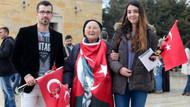 Türkiye Anıtkabir'e akın etti, ortaya bu görüntüler çıktı!