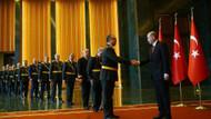 Erdoğan, Saray'da Cumhuriyet Bayramı tebriklerini kabul etti