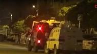 Ak Parti ilçe binasına saldırı görüntüleri