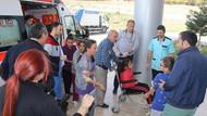110 ilkokul öğrencisi, gıda  zehirlenmesinden dolayı hastaneye kaldırıldı