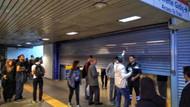 Metro istasyonunda şüpheli çanta paniği