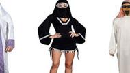Burkalı Cadılar Bayramı kostümü müslümanları kızdırdı