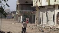 Nusaybin'de tel örgü geri çekildi, çatışmanın izleri ortaya çıktı