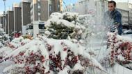O ilde okullara bir gün kar tatili geldi
