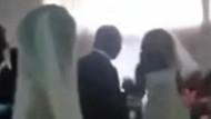 Gelinlik giyip düğünü basan eski sevgili