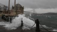 İstanbul'da lodos etkisini sürdürüyor