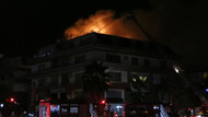 Galatasaraylı futbolcunun oturduğu rezidansta yangın