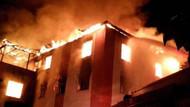 Meğer yangın merdiveninin kapı kolu yokmuş! Korkunç ihmaller ortaya çıktı