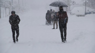 O ilde okullara kar tatili geldi