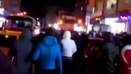 Son dakika: Bağcılar'da HDP binasına havai fişekli saldırı