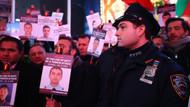 New York Polisi, Times Meydanı'nda İstanbul saldırısı şehitlerini andı