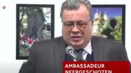 İşte Rusya büyükelçisinin vurulma anı!