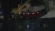 İstanbul'da Rus gemisi karaya oturdu