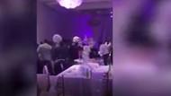 O görüntüler düğünü karıştırdı!