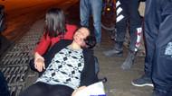 İşitme engelli kadını taciz edip, çantasını çalmak istedi