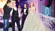Ali Ağaoğlu'nun kızı evlendi