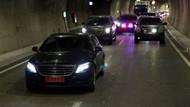 Başbakan Binali Yıldırım makam aracıyla yeni tünelden geçti