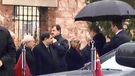 Cumhurbaşkanı Erdoğan cenaze töreni için Fatih Camii'nde
