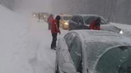 Uludağ Yolu kapandı! Tatilcilerin imdadına jandarma ekipleri yetişti