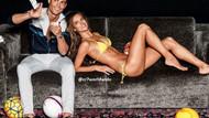Cristiano Ronaldo ve Alessandra Ambrosio