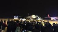 Uçakta kavga çıktı! 2 kadın yolcu fenalaştı