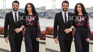 Murat Yıldırım ve Imane Elbani, Boğaz'da nişanlandı