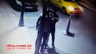 Şişli'de bar çıkış dehşet! Genç kadını da dövdüler!