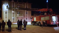 Kütahya'da kız öğrenci yurdunda korkutan yangın
