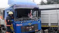 TEM'de feci kaza: Seda Sayan'ın eniştesi ucuz atlattı!