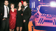 Doğulu ailesinin partisine polis müdahalesi