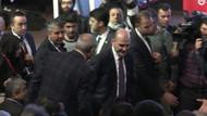 Süleyman Soylu'ya protesto: Soylu salonu terk etti!