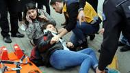 İETT otobüsü kaldırımdaki genç kızın ayaklarını ezdi