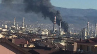 Tüpraş Kocaeli Rafinerisinde yangın çıktı