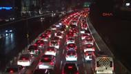 İstanbullular isyanda! Trafik yoğunluğu yüzde 90