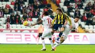 Antalyaspor - Fenerbahçe: 4-2