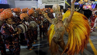 Rio Karnavalı renkli başladı