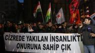 HDP'nin İstanbul'daki Cizre eylemine polis müdahalesi