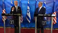 """ABD Başkan Yardımcısı Biden'dan Netanyahu'ya: """"Erdoğan, İsrail'le en kısa zamanda bir anlaşmaya varmak istiyor"""