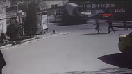 Beton mikseri faciası saniye saniye görüntülendi
