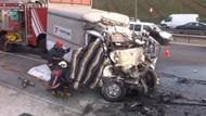 TEM'de 2 ayrı kaza: 3 ölü