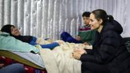 Angelina Jolie Lübnan'daki mülteci kampını ziyaret etti